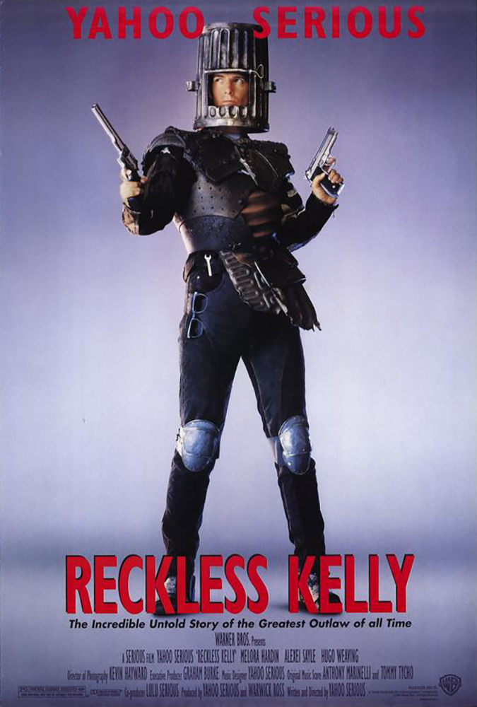 reckless kelly movie poster 1993