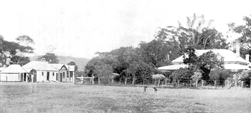 Faithfull's Creek homestead. The storehouse where the Gang kept their prisoners was to the left. Image: The Kenneally family